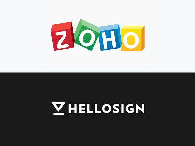 zoho hellosign integration